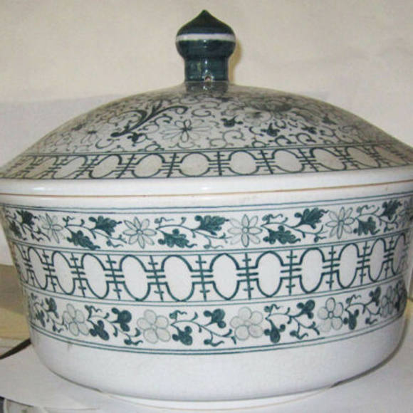soup tureen antique Other - covered soup tureen antique asian decorative dish